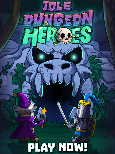 Idle Dungeon Heroes apkpoly screenshots 9
