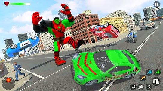 Incredible Monster Green Hero New City Battle 2021 1