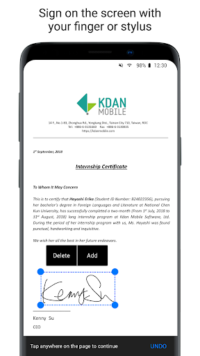 PDF Reader - Sign, Scan, Edit & Share PDF Document screenshots 4