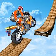Bike Stunts Impossible 3D Motorcycle Race 2020