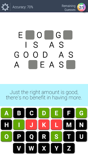guess the phrases, proverbs & idioms - word puzzle screenshot 2
