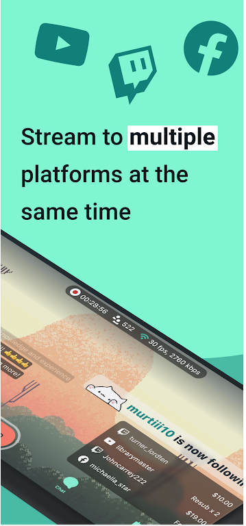 Streamlabs: Live Streaming App  poster 2