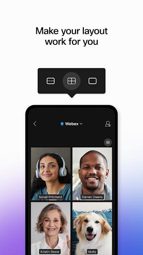 Cisco Webex Meetings apktram screenshots 4
