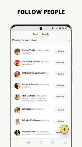 Koo: Connect with People! apktram screenshots 2