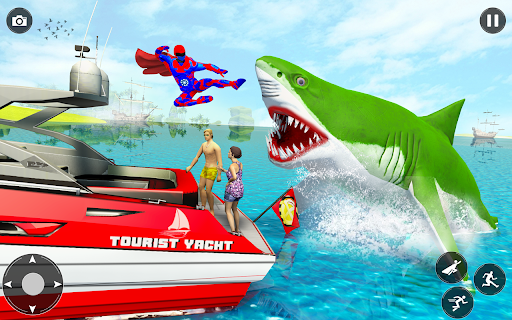 Superhero robot game police hero: rescue mission  Screenshots 5
