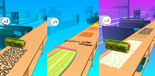 Sushi Roll 3D - Cooking ASMR Game Versi 1.6.3