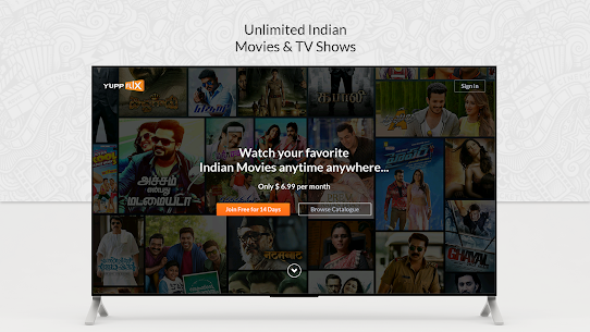 YuppFlix –Indian Movies and Shows for AndroidTV 1