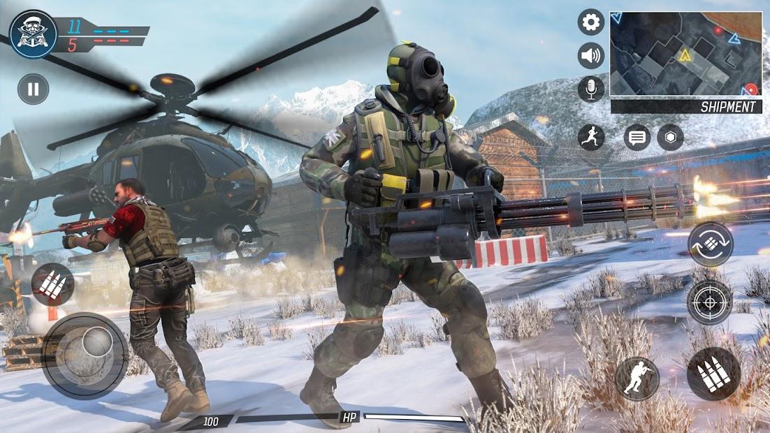 Captura de Pantalla 4 de Libre Pistola Tiroteo   Juegos : Nuevo   Juegos para android
