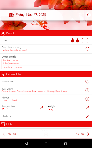 Period Tracker & Diary 6.0.1 screenshots 18