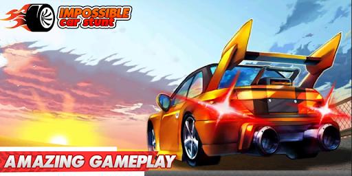 Impossible Car Stunts 3D - Car Stunt Races  screenshots 1