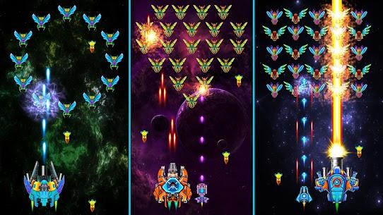 Galaxy Attack: Alien Shooter MOD APK 35.8 (Unlimited Money) 7