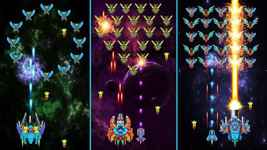 """Galaxy Attack"": ""Alien Shooter"" ekrano kopija"