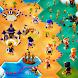 Hexapolis: ターン制の文明、探検、植民地化、部族の戦い、4X戦略ゲームの構築