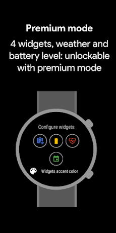 Pixel Minimal Watch Face - Watch Faces for WearOSのおすすめ画像3