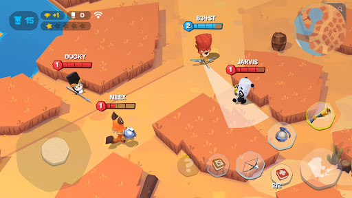 Zooba: Free-for-all Zoo Combat Battle Royale Games apkpoly screenshots 6