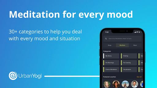 UrbanYogi - Meditate, Sleep & Relax 4.6.372 screenshots 2