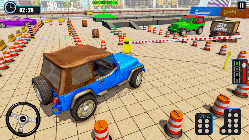 Crazy Jeep Extreme Car Parking Prado Car driving 1.8 screenshots 7