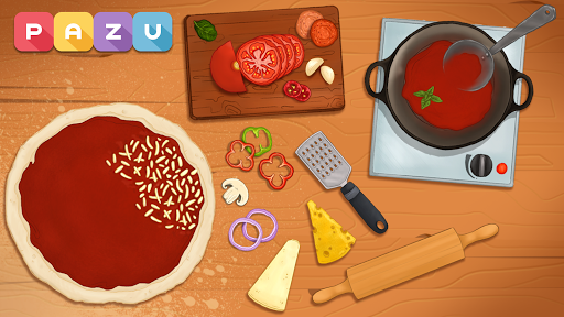Pizza maker - cooking and baking games for kids 1.14 Screenshots 2