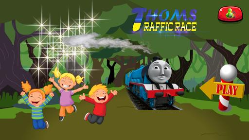 Train Thomas Traffic Race 1.0 screenshots 1
