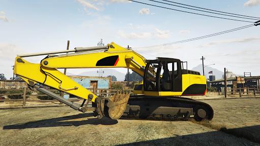 Dozer and Truck Games: Excavator Simulator  screenshots 7