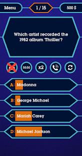 Millionaire 2020 - Offline Quiz