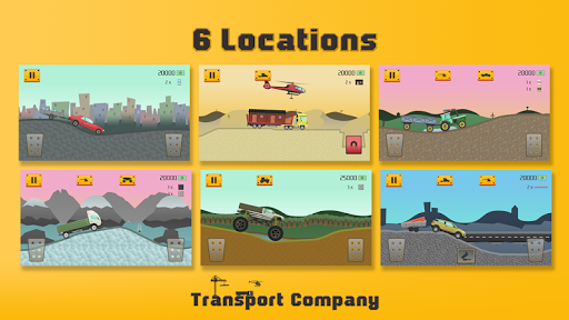 transport company - extreme hill game screenshot 3