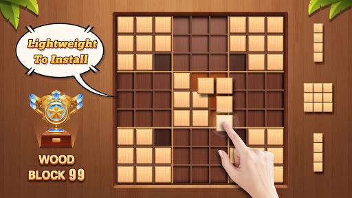 Wood Block 99 - Wooden Sudoku Puzzle screenshots 2