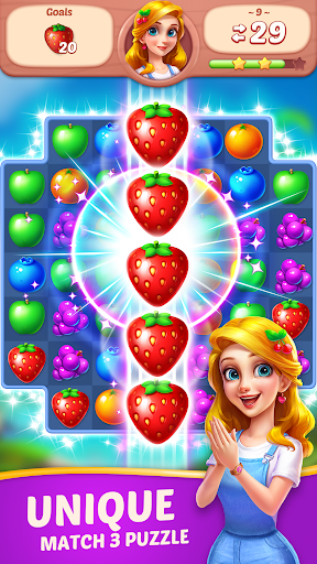 Fruit Diary - Match 3 Games Without Wifi 1.26.1 screenshots 1