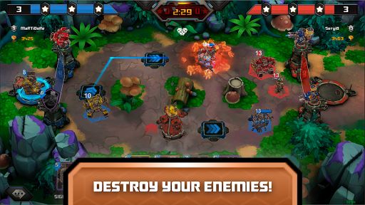 Steel Wars Royale - Multiplayer Strategy Game  screenshots 1