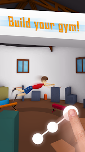 Tetrun: Parkour Mania - free running game Screenshot