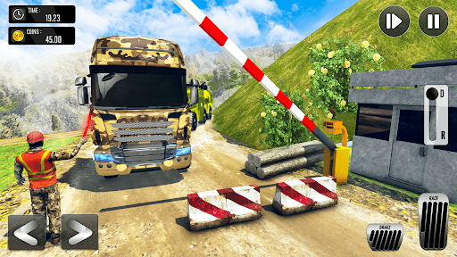Army Truck Driving Simulator Game-Truck Games 2021 android2mod screenshots 1