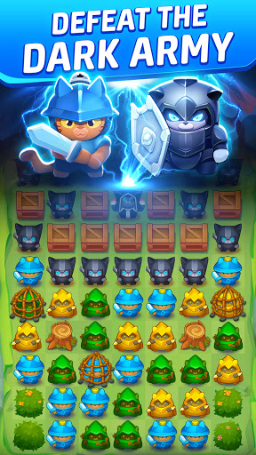 Cat Force - PvP Match 3 Puzzle Game  screenshots 4