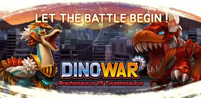 Dino War Brachio VS Tyranno