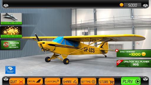 Extreme Airplane simulator 2019 Pilot Flight games 4.3 screenshots 14