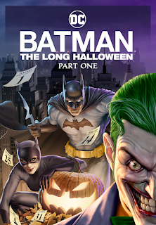 """alt=""""It's a dark time in Gotham City. Held hostage by the powerful Falcone crime family, the city is rife with crime and corruption. Adding to the chaos is the mysterious Holiday killer, who has been targeting the underworld and leaving a trail of terror...and body bags. Batman, Lieutenant Gordon and D.A. Harvey Dent race against the calendar as it advances toward the next ill-fated holiday. Based on the critically acclaimed graphic novel, Batman: The Long Halloween, Part One begins a twisted chain of events that will forever change the Dark Knight.    CAST AND CREDITS  Producers Butch Lukic  Director Chris Palmer  Writers Tim Sheridan"""""""
