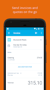 Xero Accounting Screenshot