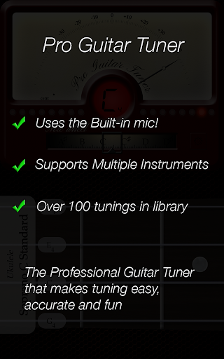 Pro Guitar Tuner 3.1.10 Screenshots 10