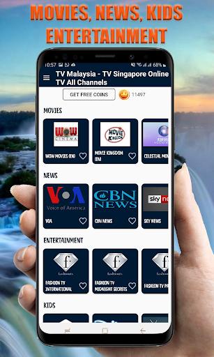 TV Indonesia Online - TV Malaysia TV Singapore 26.0 Screenshots 2