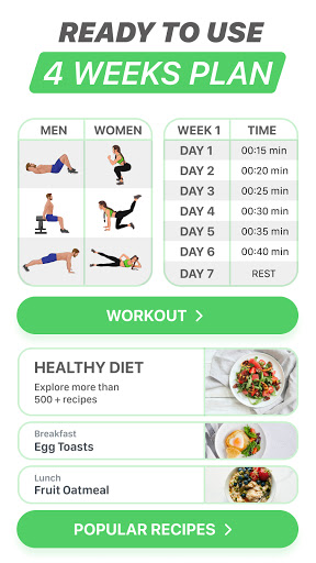 FitCoach: Personalized Fitness apktram screenshots 4