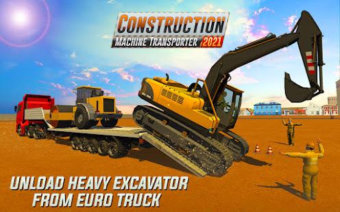 Heavy Excavator Machines: Transporter Truck Games 1.0.3 screenshots 1