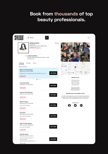 StyleSeat - Book Beauty & Salon Appointments apktram screenshots 10
