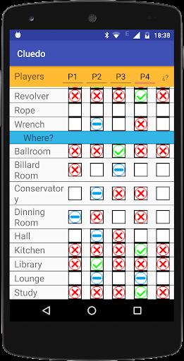 Cluedo Notepad  Screenshots 5