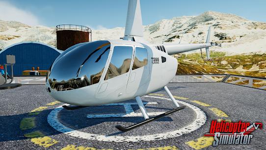 Helicopter Simulator 2021 MOD APK 1.0.1 (Unlocked Helicopter/Levels) 1