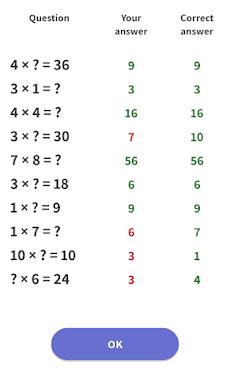 九九 - 簡単に学び、数学の試験の準備をするのおすすめ画像3