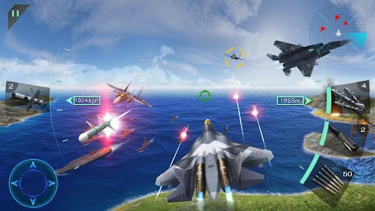 Download Sky Fighters 3D MOD APK 1.5 [Money/Free Shopping] 5