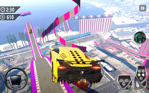 Mega Ramp Car Jumping 3D: Car Stunt Game apkmr screenshots 9
