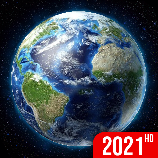 Earth Map 2021 - Live Satellite View, World Map 3D