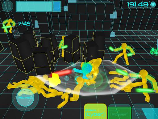 Stickman Neon Warriors: Sword Fighting screenshots 12