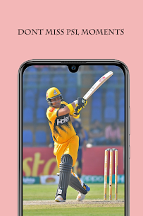 Live PSL 2021 : live cricket guide For Android 3