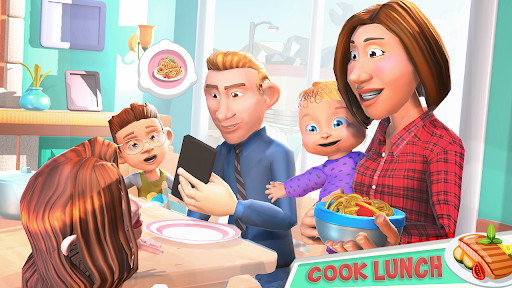 Virtual Mother Game: Family Mom Simulator  screenshots 2
